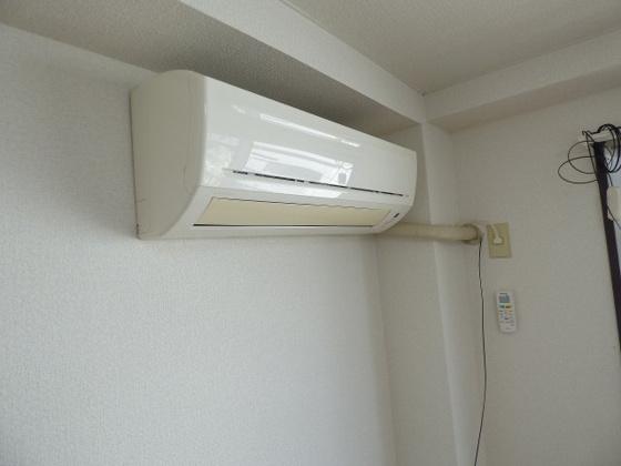 設備うれしいエアコンも完備です。