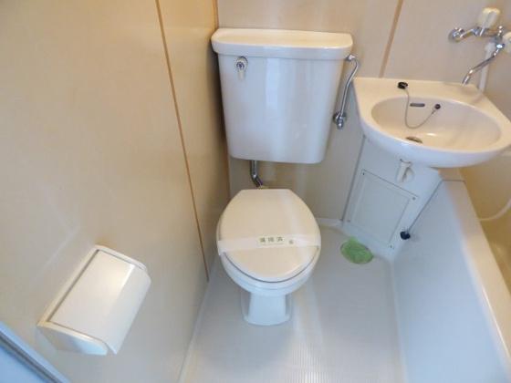 トイレキレイにお手入れ済みです。