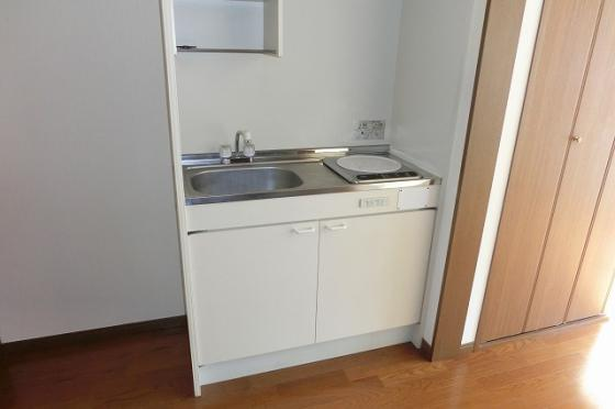 キッチン一口のIHコンロ