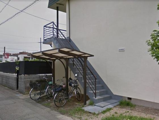 設備自転車置き場