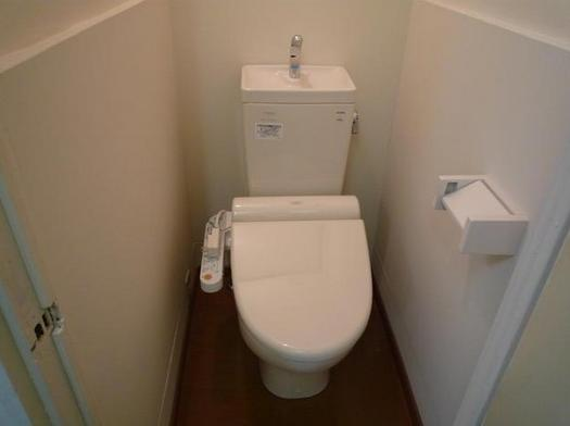 トイレそして、トイレにはとっても便利なウォシュレット付き(ノ゚ο゚)ノ