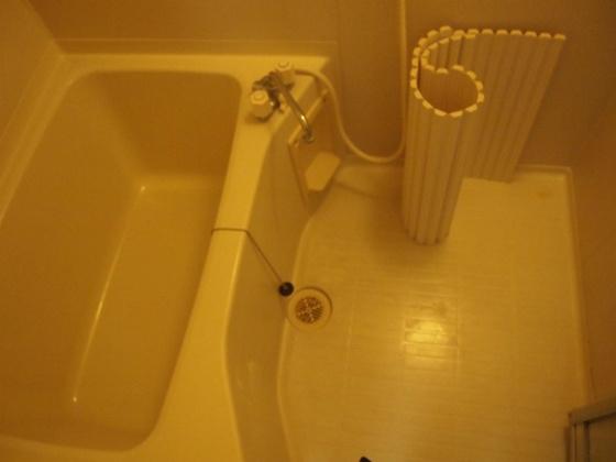 浴室セパレートタイプだからゆったり出来ます。