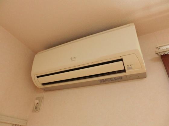 設備洋室にはエアコン完備
