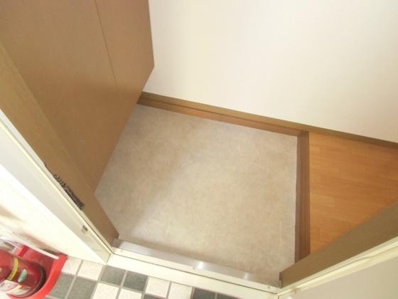 玄関下駄箱もしっかり完備した玄関