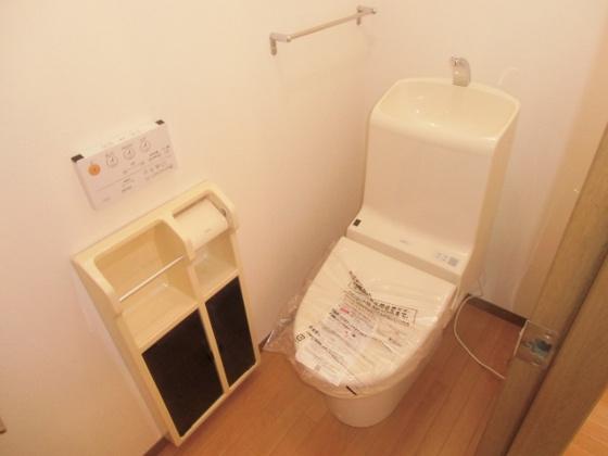 トイレウォシュレットを新設しました