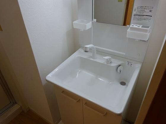 独立洗面台シャンプードレッサーのアップ