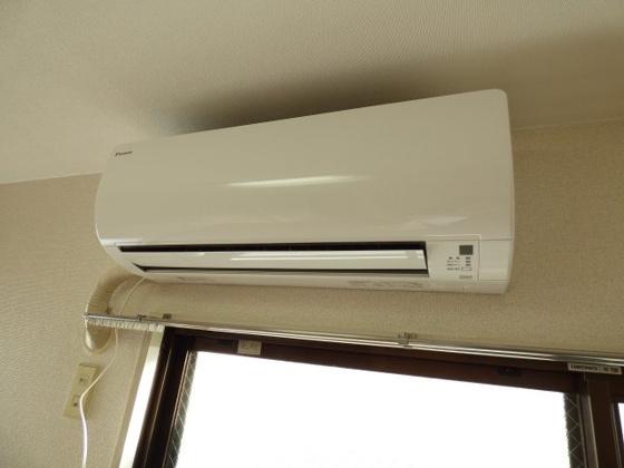 設備エアコン完備は助かりますね。