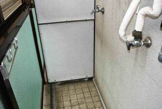 その他洗濯機はこちらへ置いて下さい。
