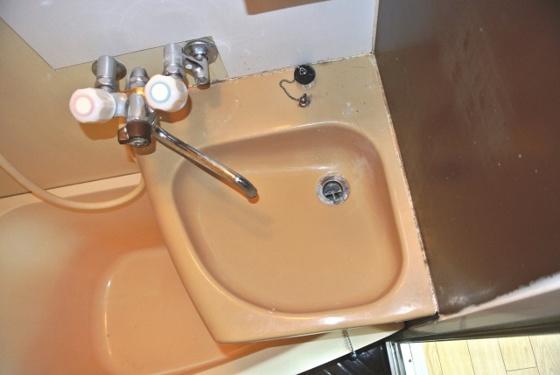 洗面所コンパクトでかわいい洗面台