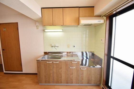 キッチン使いやすい大きなキッチン。