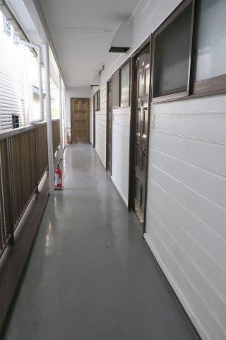 共有部分鈴木ハウス 共用廊下