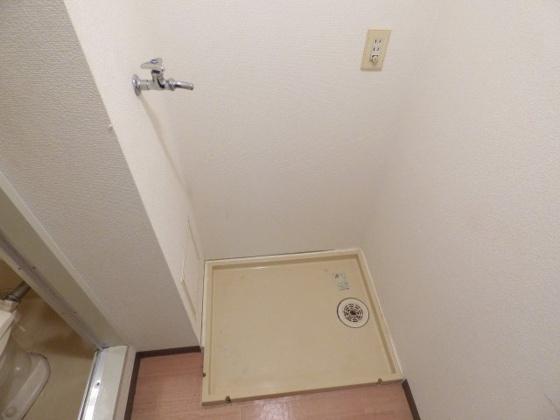 その他洗濯機は室内に置けますよ。