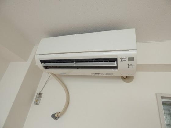 設備毎日快適なエアコンも完備。