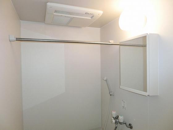 浴室浴室換気乾燥機完備