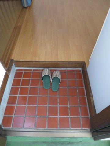 玄関シンプルで使いやすい玄関です