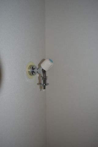 設備洗濯機置場 ワンタッチ蛇口