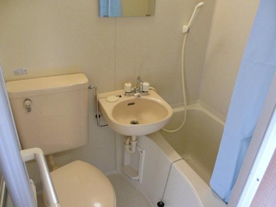 トイレ室内洗濯機置場