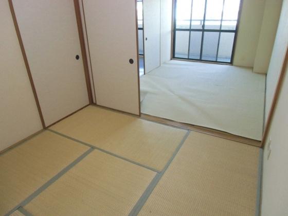和室続き間としても使用できる和室