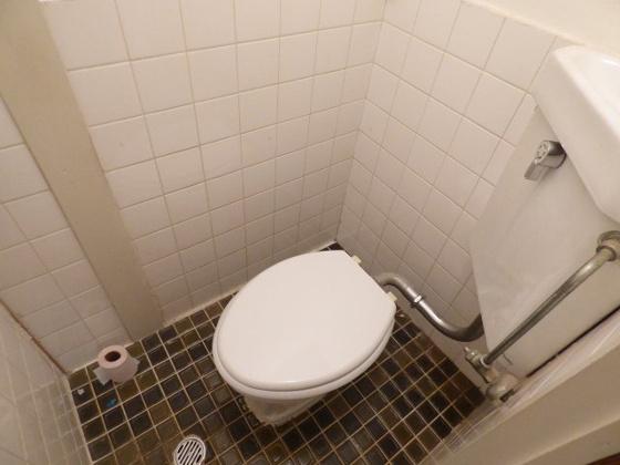 トイレシンプルで清潔感のあるトイレ。