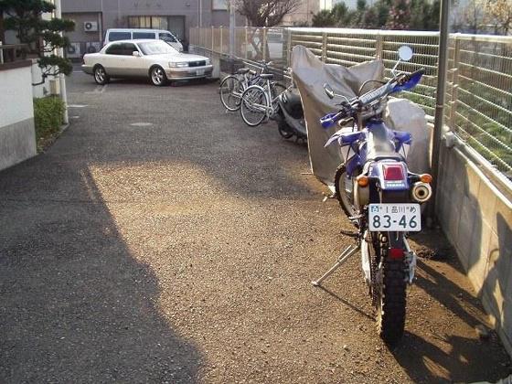 その他バイク駐輪可