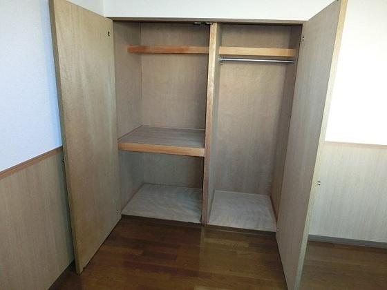 収納広めの収納スペース