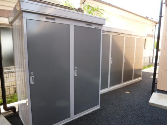 設備トランクルーム(月額:1,500円任意)