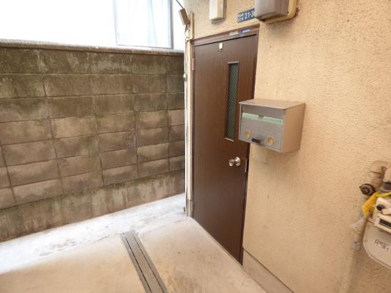 玄関玄関は余裕のある広さです。