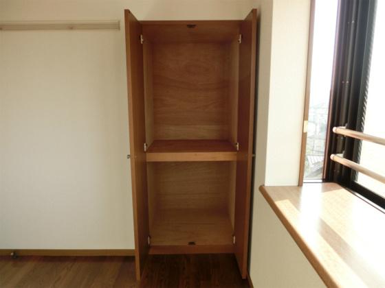 収納4.5帖洋室にある収納スペース