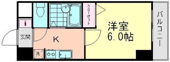 間取り室内写真は402号室です