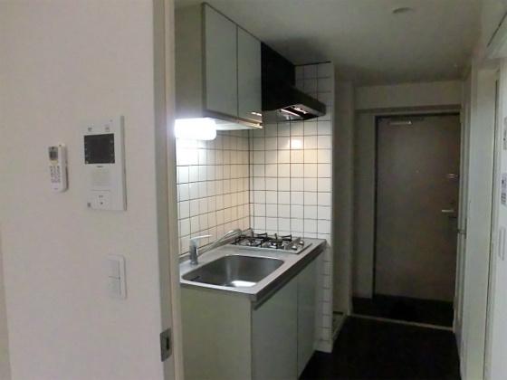 キッチン2口ガスコンロ付のキッチン