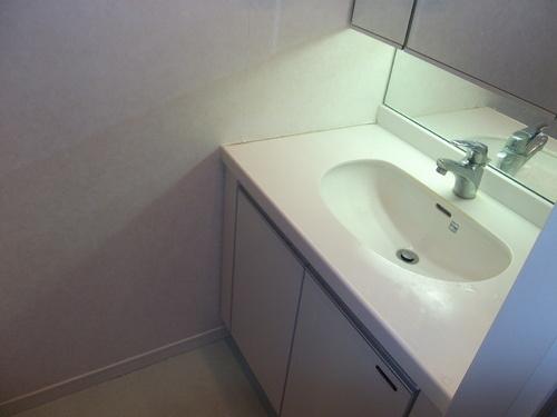 独立洗面台高級感のある洗面台