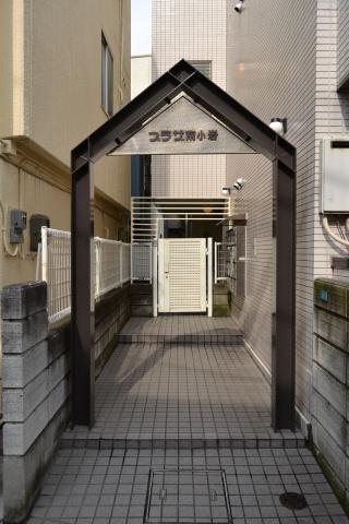 外観マンション入口