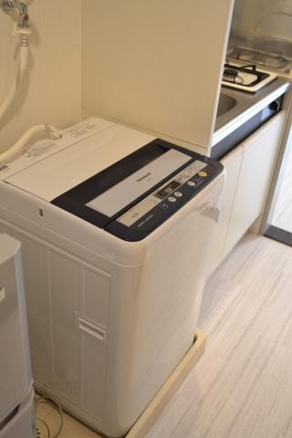 設備全自動洗濯機付き