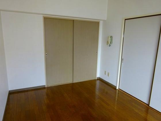 洋室右側が和室のふすまです