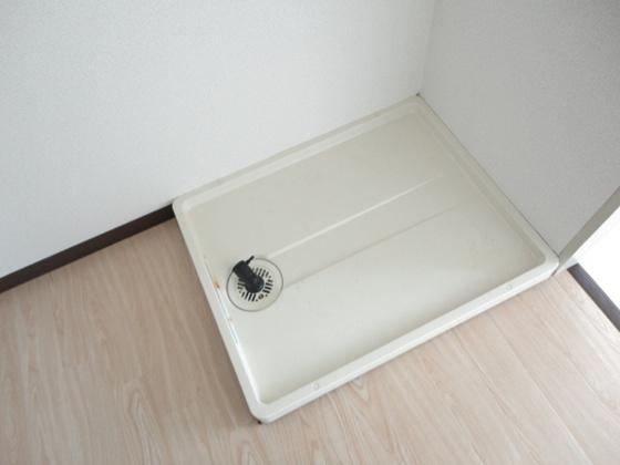 キッチン洗濯機置き場