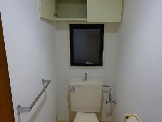 トイレ棚付トイレ