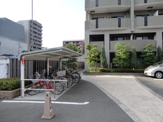 設備☆屋根付き駐輪場☆