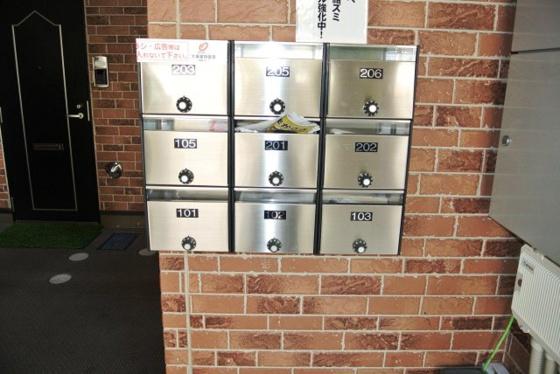 その他共有部分のメールボックス。
