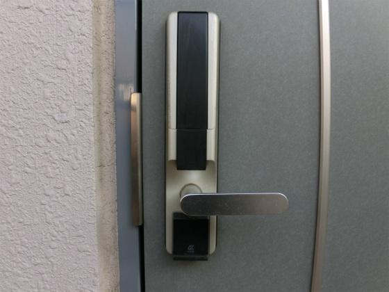 デジタルロック・暗証番号で開けます