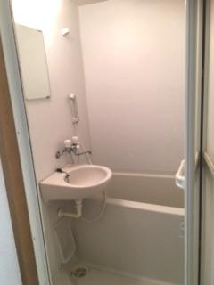 浴室洗面台あります。