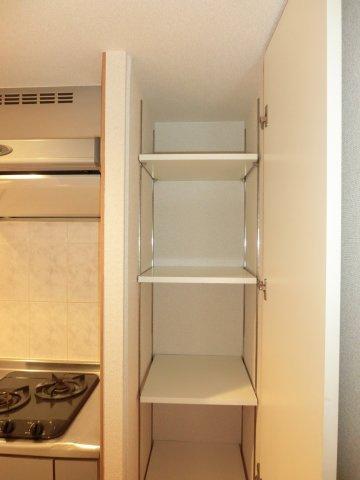 収納キッチン横収納(上段)