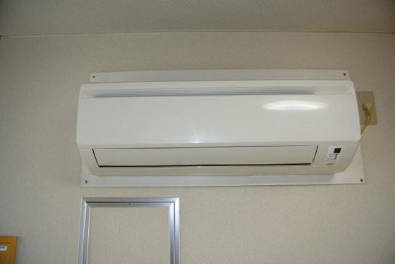 設備エアコン完備で快適ですね。