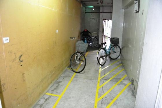 その他区画された駐輪スペース。