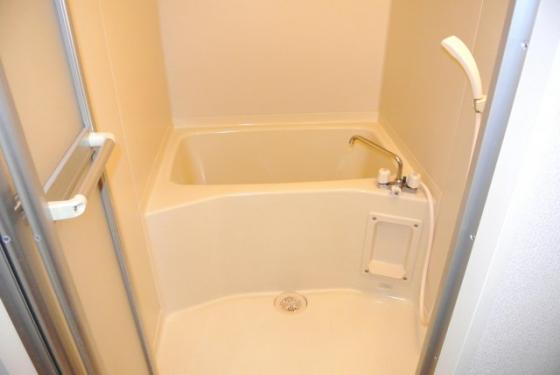 浴室くつろげる癒しの空間。