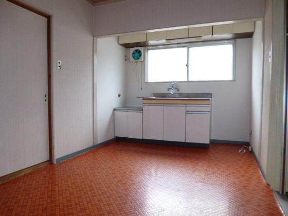 キッチン床のCF張替OK