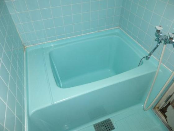 浴室このレトロ感は残すのもひとつ