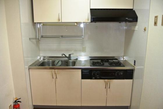 キッチン機能的なシステムキッチンです。