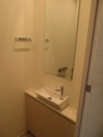 独立洗面台コンフォリア新宿イーストサイドタワー 独立洗面台
