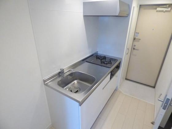 キッチン使いやすいシステムキッチン。