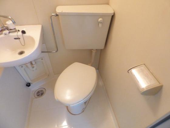 トイレお手入れが簡単にできます。